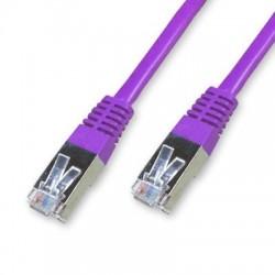 Cordon Cat 5e FTP Violet - 15 m