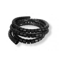 Gaine spiralée noire - 10 m - 8 à 60mm