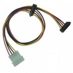 Adaptateur 2 SATA droit / connecteur 5 1/4