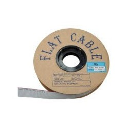 câble plat - 10 pts - 30.5m - AWG 28