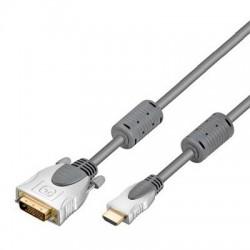 Cordon DVI-D M (24+1) - HDMI M - 15 m
