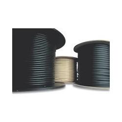Câble plat téléphonique noir 4 conducteurs - 100 m