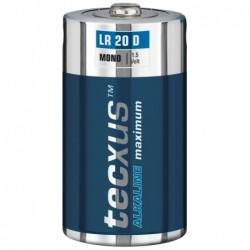 Piles alcaline LR 20 - D - pack de 2