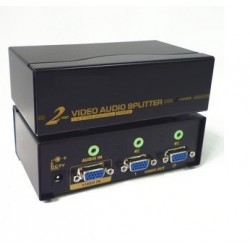 Splitter VGA + Audio 2 ports - 450MHz - 2048x1536