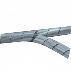 Gaine spiralée transparente - 10 m