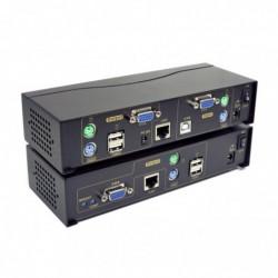 Extendeur KVM VGA & USB & PS/2 sur RJ45 - 150M