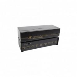 Splitter HDMI 1.4 - 8 ports - 1080p - Boitier métal