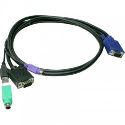 Câble KVM Combo USB & PS/2 M / M - 10 m