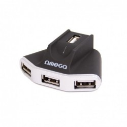 HUB 4 ports USB 2.0 + alimentation