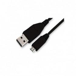 Cordon USB2.0 A Mâle / Micro USB B Mâle - 1m