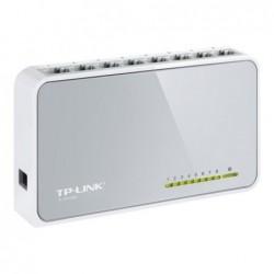 Switch 8 ports soho 10/100 MBP Blanc TL-SF1008D