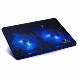 """AIRSTREAM 15 "" Ventil 2 x 125 mm à LED bleu1 port USB supplémentaire"