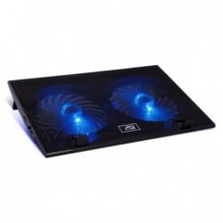 """""""AIRSTREAM 19 """" Ventil 2 x 150 mm à LED bleu , 1 port USB supplémenta"""