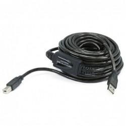 Cordon USB 2.0 A-B  M/M amplifié - 10M