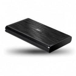 Boitier ext. USB 2.0 pour HDD 2.5 SATA  grande capacité (12,5 mm)