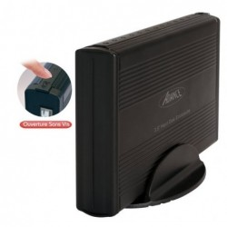 Boitier externe USB 2.0 pour HDD 3.5 IDE, alim fournis