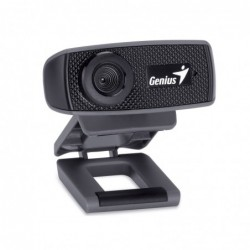 GENIUS - Webcam Resolution HD 720p - Zoom 3X - Micro- Face Cam 1000X