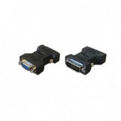 Adaptateur DVI-D (24+1) M / HD 15 F - Passif - PAS ECRAN/PC