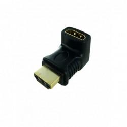 Adaptateur HDMI M / F - 90°