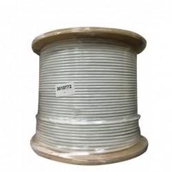 DRAKA Câble monobrin - 4 paires Cat.6 F/UTP LSHF - 500M