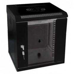 UPTEC - Coffret 10''noir 9U prof 300mm avec panneaux amovibles