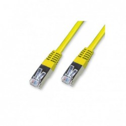 Cordon Cat 5e FTP Jaune - 25 m