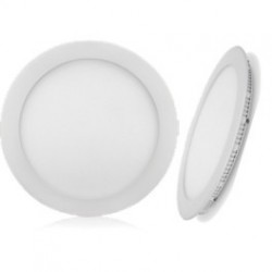 "Downlight LED rond ""SAONA"" 6W - 4000°K - 330 Lm - 120x20mm"