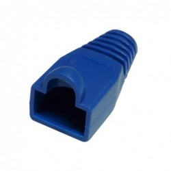 Manchon Bleu pour RJ45 - Diam 6.1 mm - Paquet de 10 pcs