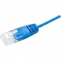 """NEW ! Cordon RJ45 1 paire bleu """"téléphone"""" 100 ohms - 1 m 100% cuivre"""