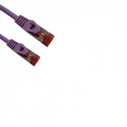 Cat 6a SSTP LSOH BLANC Snagless avec fiche de test – 20m