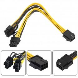 Adaptateur PCI-Express 6P > 8P