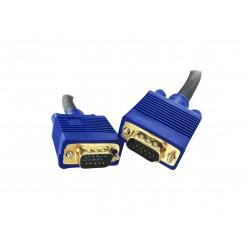 Cordon SVGA avec ferrites 15 pts - Haute Qualité - OR - M / M - 1 m