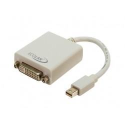 Adaptateur Mini-Display Port Mâle vers DVI-I Femelle