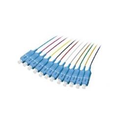Pigtail SC Multimode 50/125 – 2m - lot de 12 couleurs