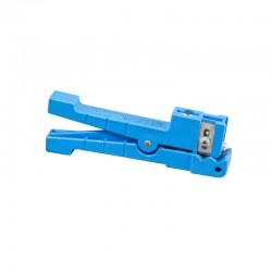 Dénudeur de câble souple 3,2- 6,3mm - Bleu
