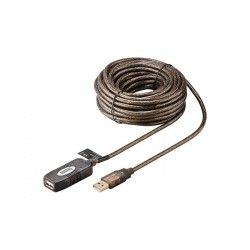 Rallonge amplifiée USB 2.0 A-A M/F - 5 m - Version Bulk