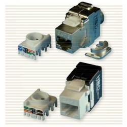 HSD - Connecteur RJ45 sans outils Zamac Cat.6 FTP ( Modèle 360° )