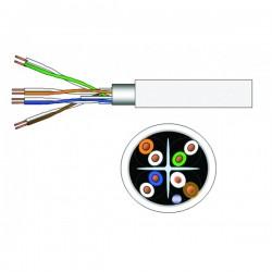 DRAKA - Câble F/UTP - LS0H - Cuivre -  Monobrin Cat 6 Gris - 305 m