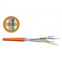 DRAKA - Câble monobrin - 4 paires Cat.7 S/FTP LSHF - 1000M