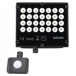 "Projecteur LED extra plat ""HAWAI"" 30W - 4000°K - Noir"