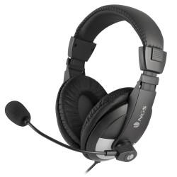 Micro casque audio enveloppant  PC Noir - NGS