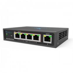 EAGLE EYE - Switch SW05m - 4 Ports Managed POE+, with 100M Uplink