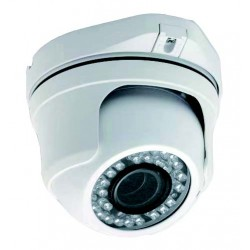 UPTEC VIEW - IP49-3P Caméra mini dôme 3MP 2.8-12mm AF IVS POE LEDIR
