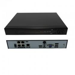 UPTEC VIEW - NVR4104 Enregistreur Lite 4 Ch 1U 4PoE 80Mbit/s