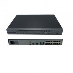 UPTEC VIEW - NVR4116 Enregistreur Lite 16Ch 1U 16PoE 200Mbit/s