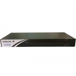 KVM 16 ports USB & PS/2 / VGA rackable manageable en IP - OSD