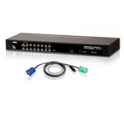 ATEN - CS1316 - KVM RACKABLE COMB0 VGA/USB-PS2 16 PORTS -