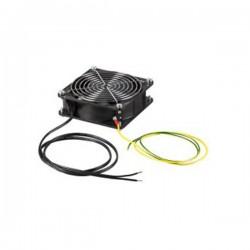 Kit ventilateur avec cordon & prise 2P+T pour coffret mural