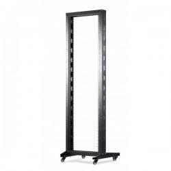UPTEC - Bâti rack 42U - 2 montants 19'' - 300kg max - mobile - monté