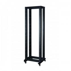 UPTEC - Bâti rack 42U - 4 montants 19'' - 400kg max - mobile - monté
